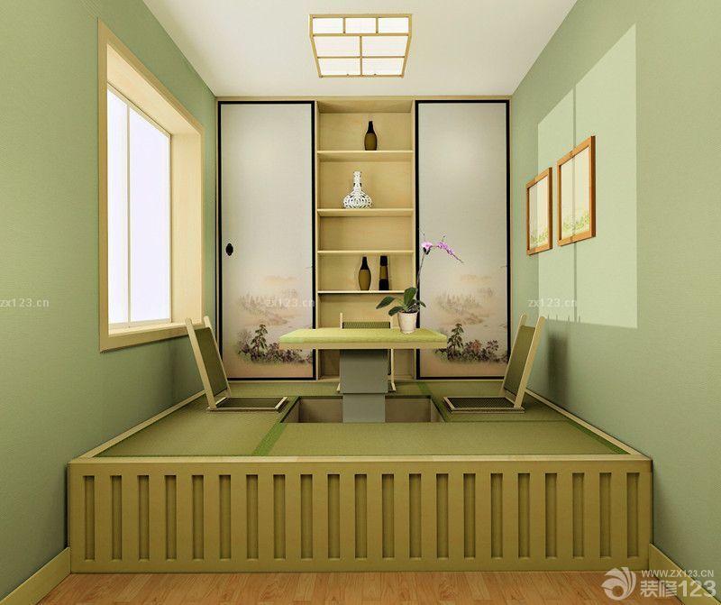 最新日式风格两室两厅卧室装修榻榻米图片大全