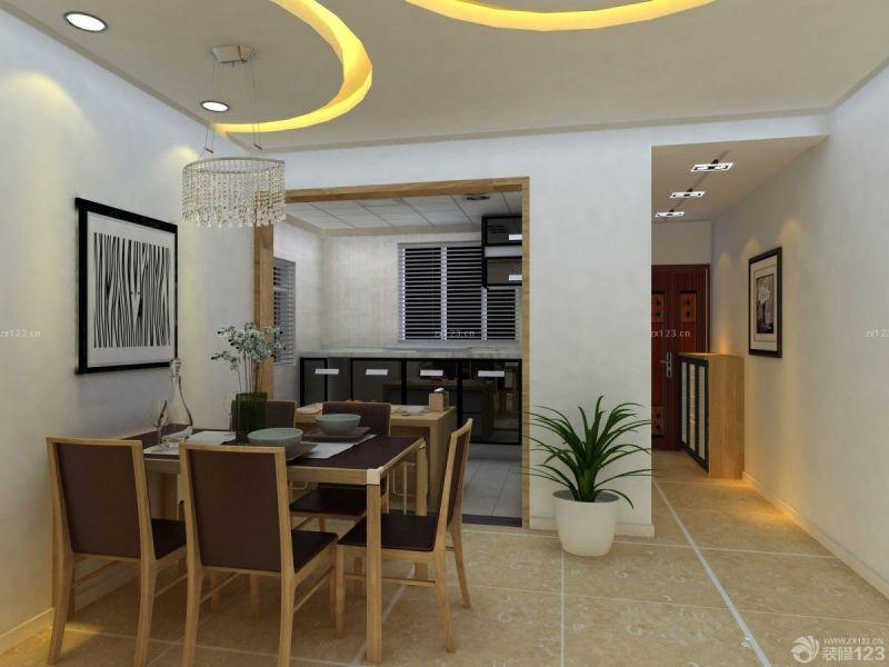 简约室内厨房铝扣板集成吊顶设计图片