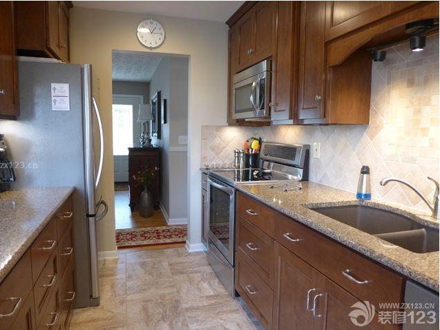 现代家居厨房橱柜颜色效果图大全