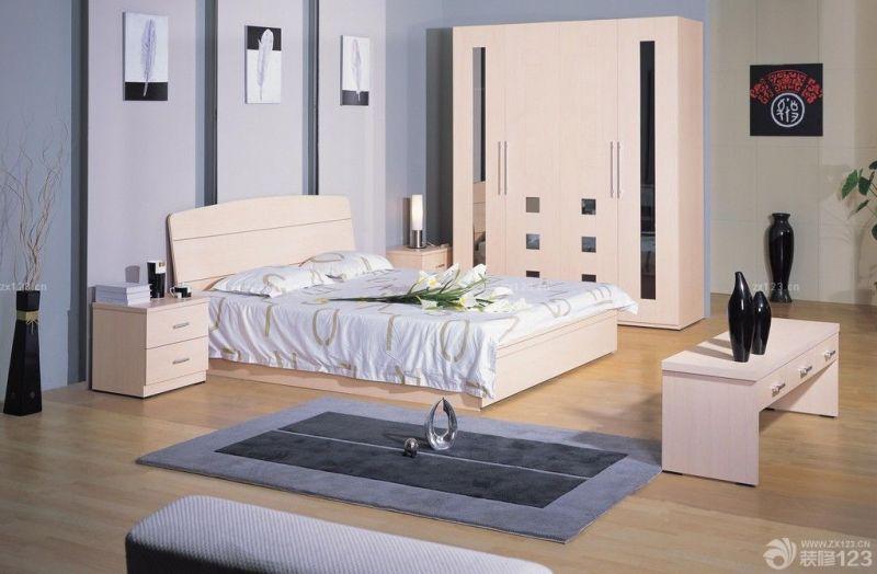 现代风格实木家具装修设计样板间大全