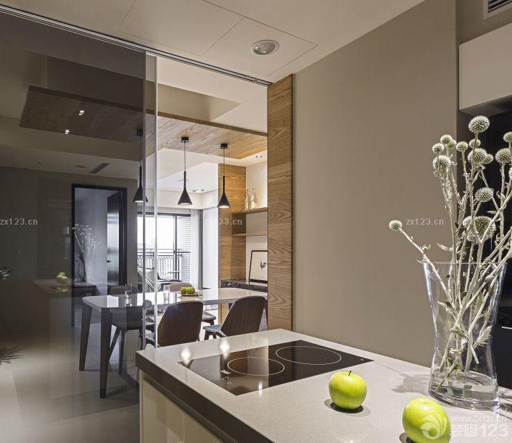 小户型厨房餐厅隔断最新装修效果图大全